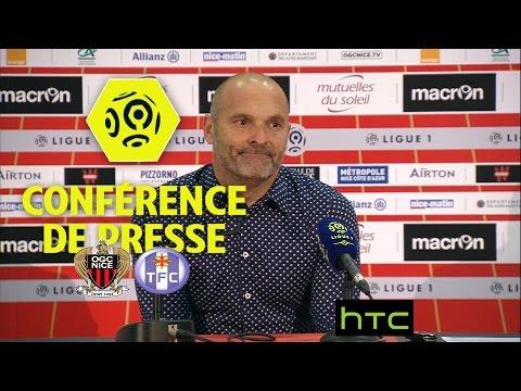 Conférence de presse OGC Nice - Toulouse FC (3-0) - Ligue 1 / 2016-17
