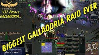 Biggest Galladoria Raid Ever 452 People [Dark Age of Camelot]