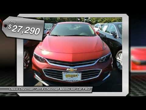2018 Chevrolet Malibu Old Bridge Township NJ 84630 - YouTube