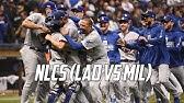 MLB2018 NLCS Highlights (LAD vs MIL)