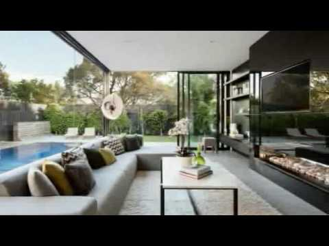 Combination of Tropical House and Contemporary Design Style in Curve House
