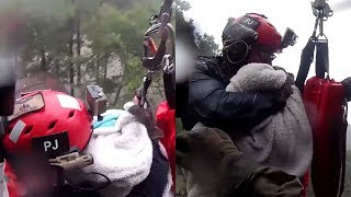 when-a-rescuer-lifted-this-man-from-the-flood-he-was-clinging-to-a-towel-holding-precious-life