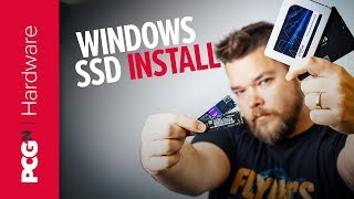 How to install Windows on your new SSD | OS install
