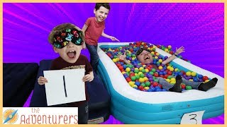 Parents Vs Kids Family Fun Trust Fall Challenge / That YouTub3 Family I The Adventurers
