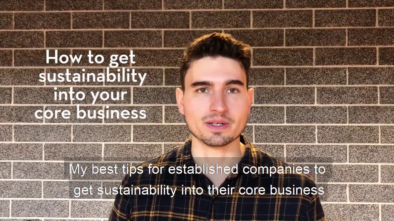 Sustainability in the core