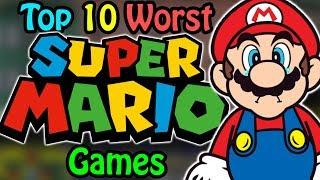 Top 10 Worst Mario Games