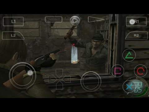Resident Evil 4 On Android Ll (EP-1) Gloud Games Mod Dimons PlayStation 2 Full Gameplay On Android