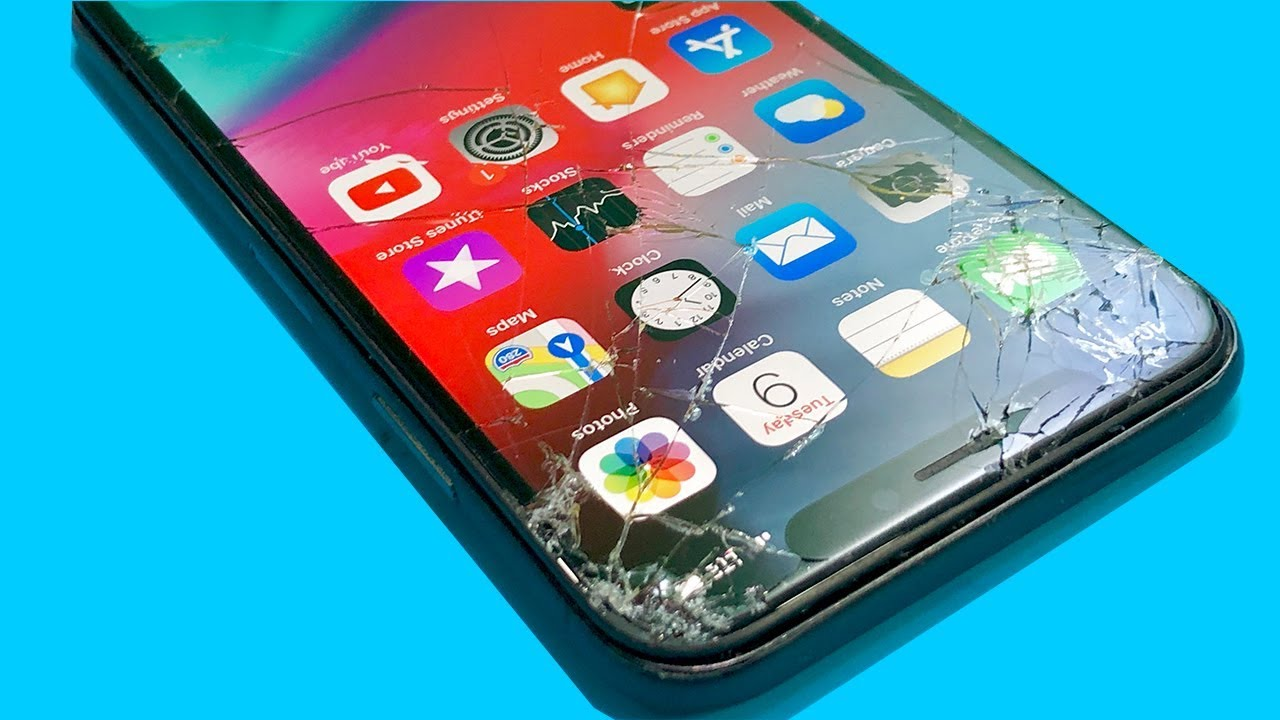 Restoration touch glass iPhone X