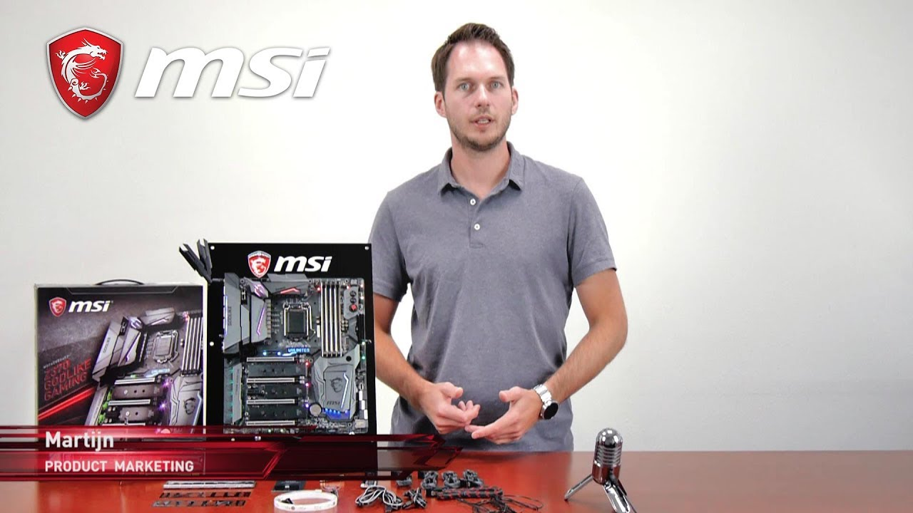 Z370 GODLIKE GAMING - One board to rule them all! | Gaming Motherboard | MSI