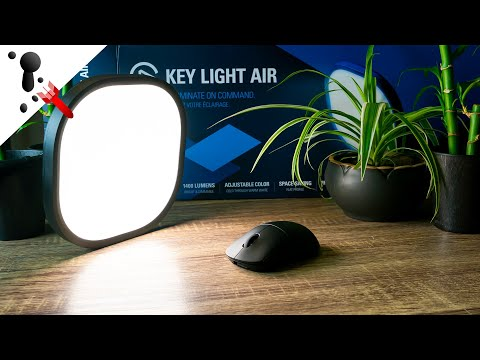 Lighting Solution For Streaming And Reviews - Elgato Key Light Air