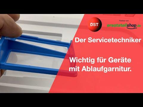 Wichtig Für Bosch/Siemens Trockner Mit Ablaufgarnitur