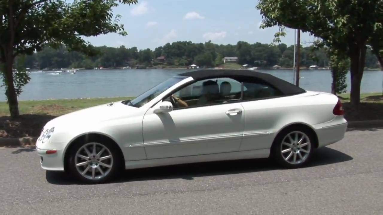 2007 mercedes clk 350 cabriolet youtube for 2010 mercedes benz clk350