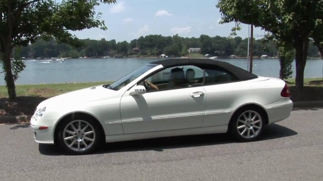 2007 Mercedes Clk 350 Cabriolet You