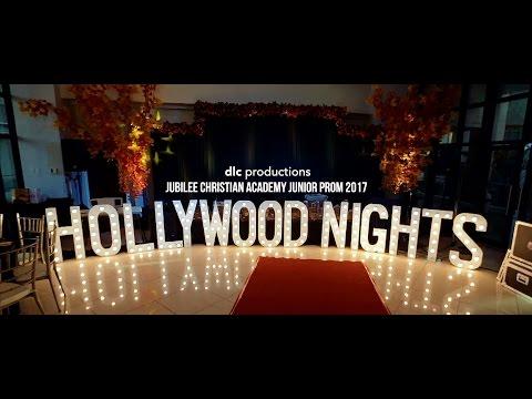 """Hollywood Nights"" Jubilee Christian Academy Junior Prom 2017"