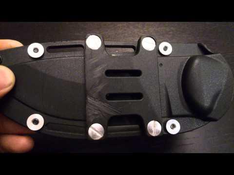 Becker BK2 Campanion stock sheath horizontal carry mod
