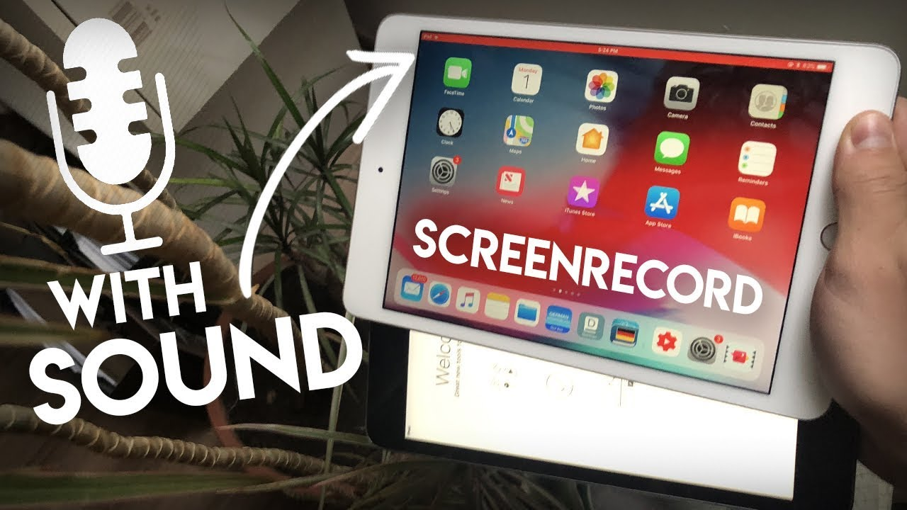 How To Screen Record On Roblox 2020 Ipad How To Record Ipad Screen With Sound Youtube