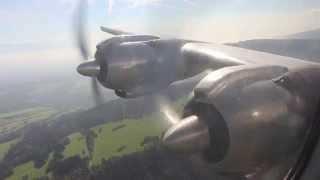 Breitling Super Constellation Jura Mountains flight, Switzerland