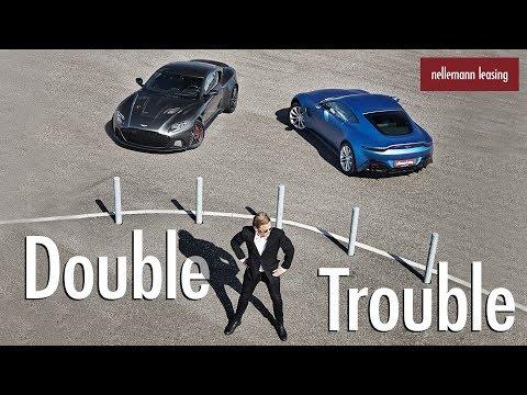 Aston Martin DBS Superleggera & Aston Martin Vantage 🏎 Nellemann Leasing