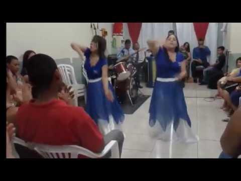 Coreografia - Entra no manto - Muro de Fogo - Grupo Elisama