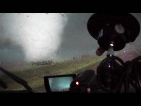 El Reno, OK EF5 Multivortex Tornado EXTREMELY CLOSE RAW CAM CORDER VIEW May 31, 2013