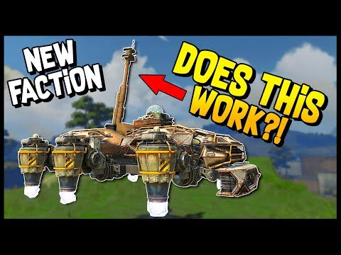 Crossout - HOVER + ARTILLERY & HOVER + HARVESTERS!? - Crossout Gameplay Dev Server