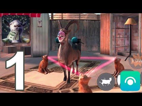 Goat Simulator: PAYDAY - Gameplay Walkthrough Part 1 (iOS, Android)