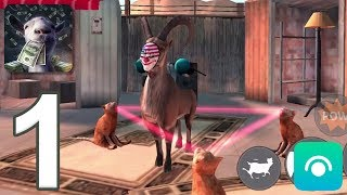 Goat Simulator: PAYDAY - Gameplay Walkthrough Part 1 (iOS, Android)