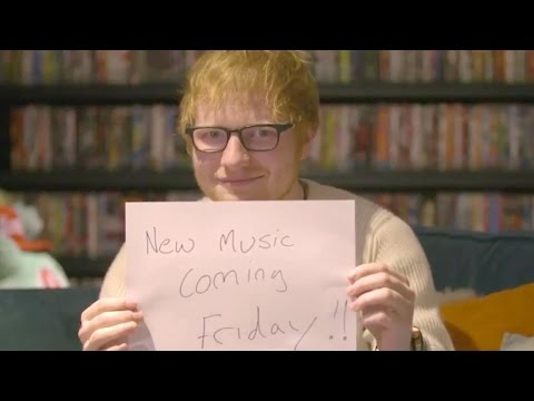 Ed Sheeran Reveals Surprise NEW Music Coming Soon & Title of New Album?