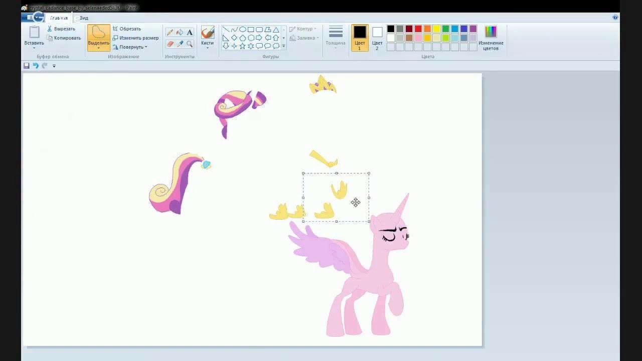 Как нарисовать всех девушек эквестрии картинки