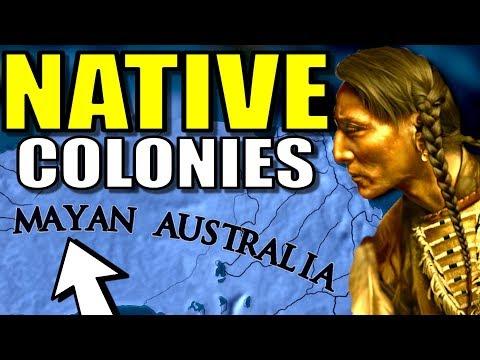 Native American Colonization?! | Europa Universalis 4 (EU4)