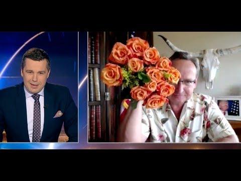 Cejrowski z kwiatami OSTRO w Minęła 20 2018/03/29 TVP INFO cała rozmowa