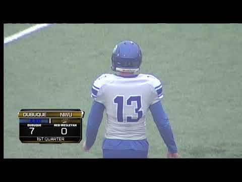 College Football: NWU vs Dubuque 2017