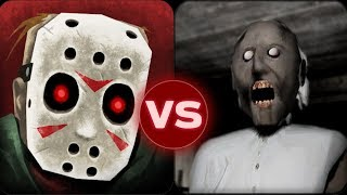 Granny Funny Glitch Extreme Mode vs Friday the 13th Killer Puzzle Full Gameplay