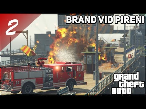 SVENSK BRANDMAN I GTA #2 EXPLOSION