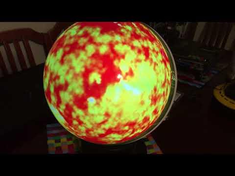 Gakken WorldEye Globe Display Demo 2