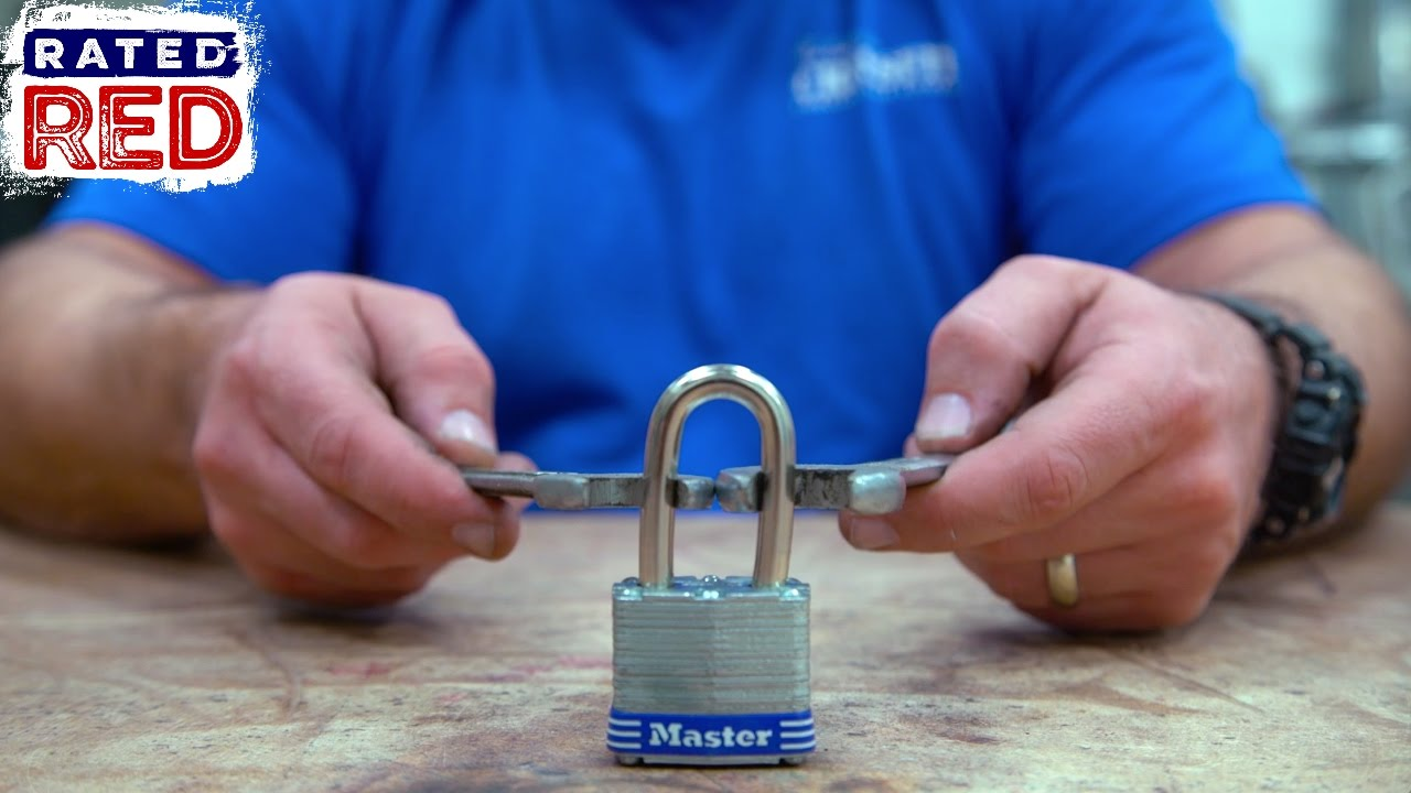 Did You Know You Can Break a Padlock With Two Wrenches?