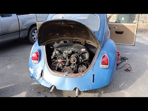 Fixing The Org. Distributor | Vw Beetle - Will It Start?