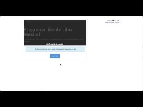 Como hacer tu cita en el Consulado de México por internet (Paso por paso)