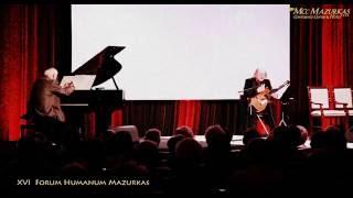"""XVI Forum Humanum Mazurkas cz.9-Jerzy Mamcarz  """"Ogrodynaszychspojrzeń–wiersz zdedykacjądlażony"""