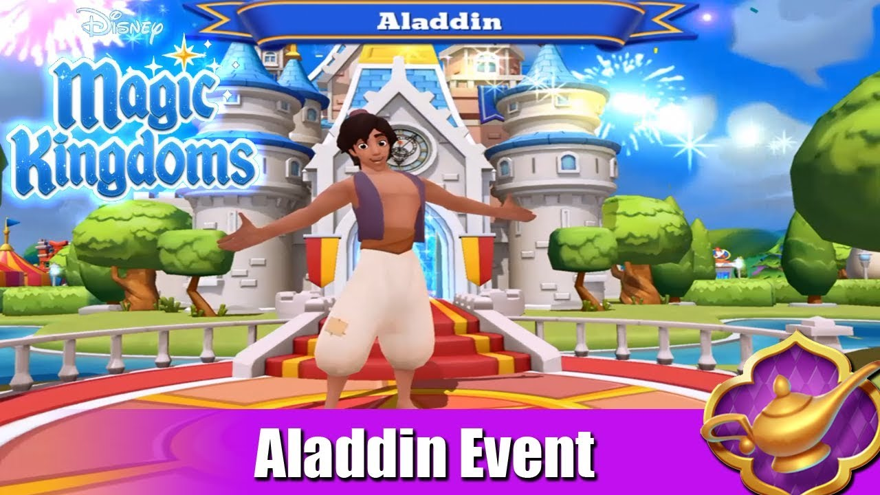Image result for Aladdin Characters Disney Magic Kingdoms
