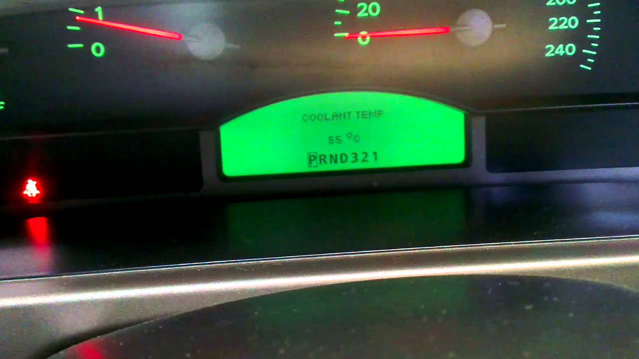 Holden Commodore VX engineering mode dashboard functions buttons parameters digital speedo  YouTube