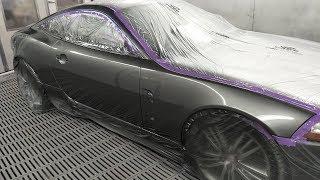 XK Jaguar Masking & Spray Painting: Music
