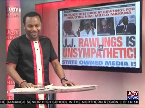 AM Show Newspaper Headlines on JoyNews (14-12-17)