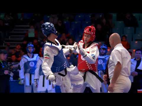 Highlights of Wuxi 2017 World Taekwondo Grand Slam Champions Series V (Team Competition)