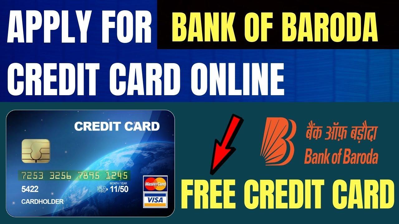 apply bank of baroda credit card