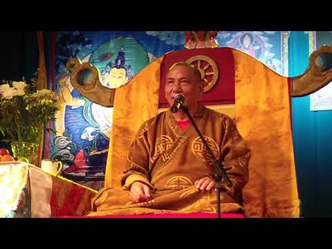 Осенние Учения Досточтимого Геше Джампа Тинлея 2019— Лекция №2 — Улан-Удэ, 27 октября