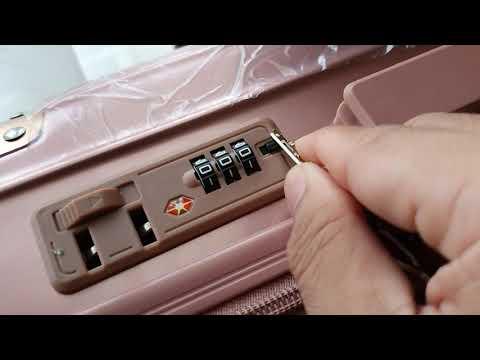 วิธีตั้งรหัสกระเป๋าเดินทาง 3703-5