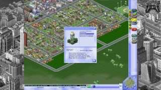 SimCity 3000 - Let's Play - GamePlaySession - German
