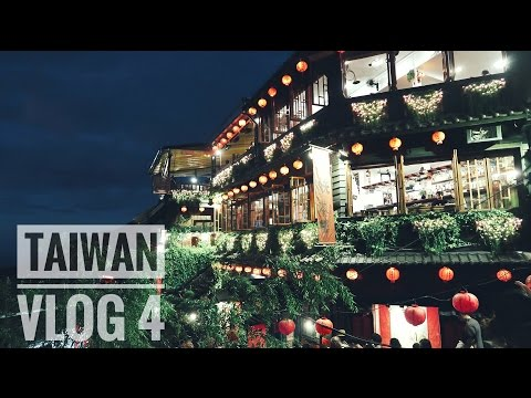 TAIWAN VLOG 4: TAMSUI & REAL LIFE 'SPIRITED AWAY' IN JIUFEN!