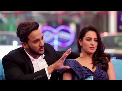 Episode 6 of #ShowbizWithVahbiz featuring beautiful Anita Hassanandani Reddy and dashing Rohit Reddy